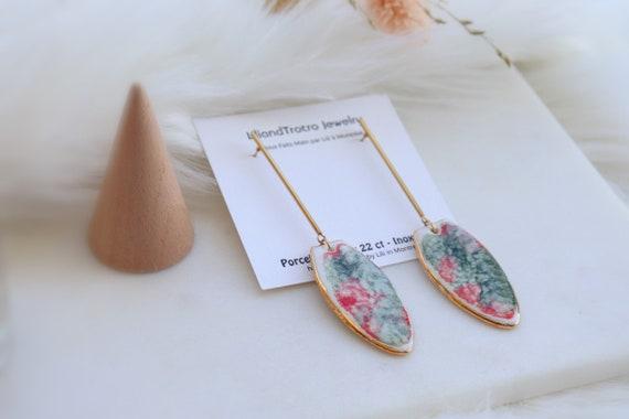 Long Dangle statement Earrings