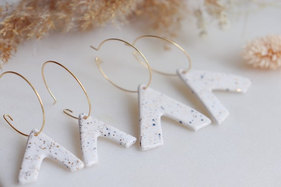 Alpha Porcelain earrings