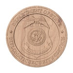 Diplomatic Security Service Seal   STL 3D Model File for CNC Router