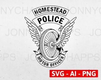 police motorcycle | etsy  etsy