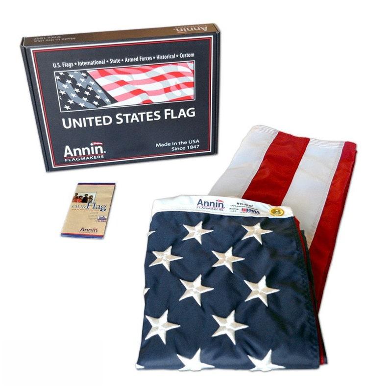Flag Mounting for Shadow Box American