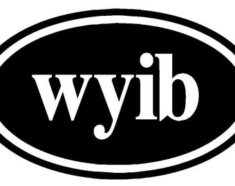 Knitters Decal wyib   With Yarn In Back