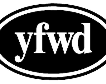Knitters Decal yfwd   Yarn Forward