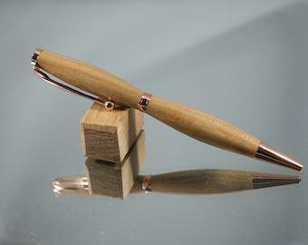 Wood and Resin Pen  Elm Epoxy Ballpoint Pen