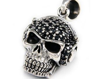 SkullClaws925 Sterling Silver PendantSilver Skull PendantSilver Claws PendantGothicBiker Jewelry NecklaceRockerMen/'sWomen/'s nd-015