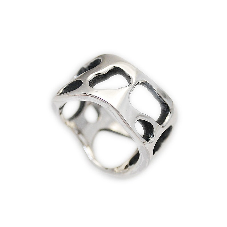d47ef0e43 Cheese/925 Sterling Silver Band Ring/Silver Cheese Band | Etsy