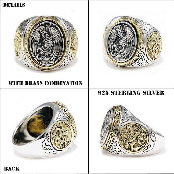 FLEUR DE LIS ROYAL CROWN 925 STERLING SILVER MEN/'S WOMEN/'S RING won-r015