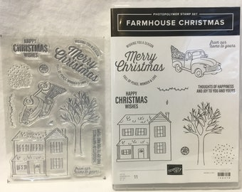 Stampin Up! Farmhouse Christmas Photopolymer Stamp Set