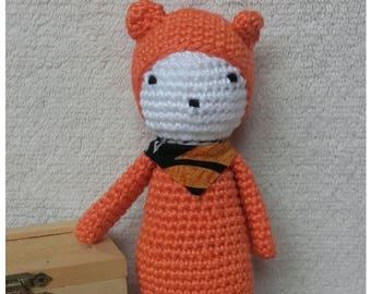 Cuddly plush crochet