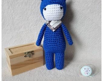 Amigurumi - Toy - plush is hand crocheted