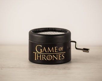 Game of Thrones Black Music Box | Perfect gift for Game of Thrones fans | Main theme tune