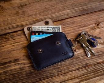 Keychain wallet | Etsy