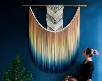 Stunning Large Macrame Wall Hanging , available in different sizes - EVA