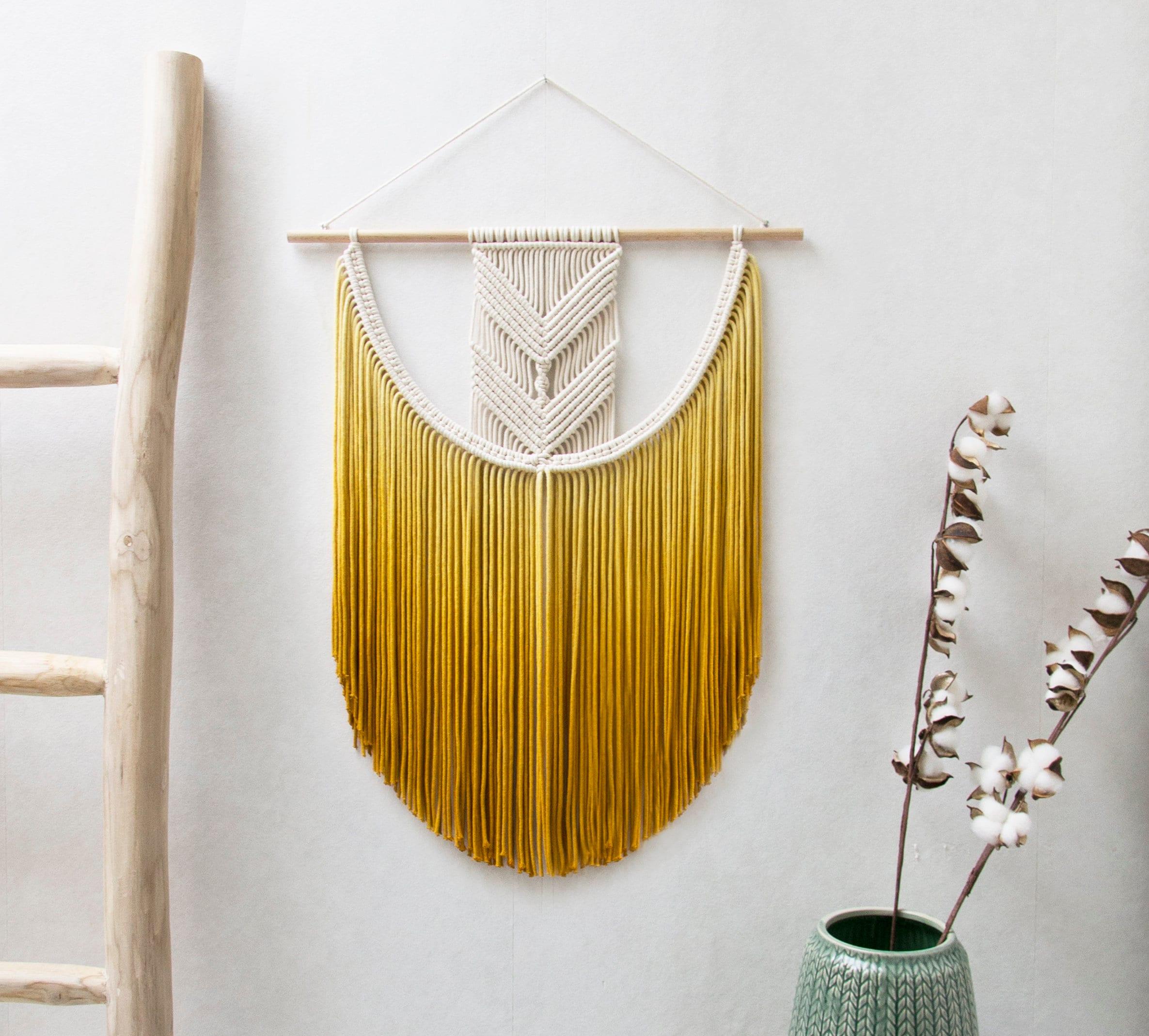 Small Macrame Wall Hanging 4 sizes S/M/L/XL Boho Nursery