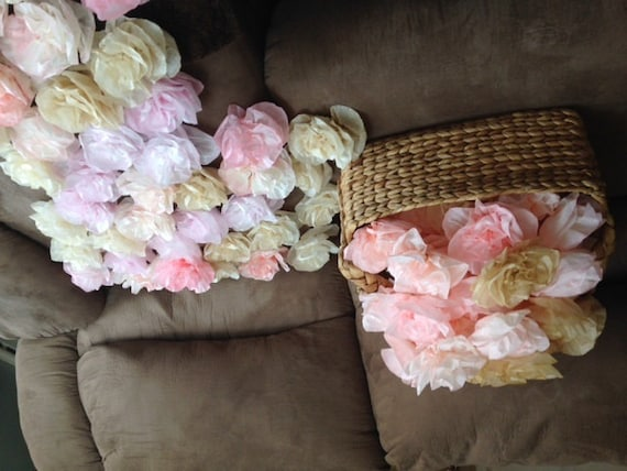 Paper flowers coffee filter flowers paper peonies with etsy image 0 mightylinksfo