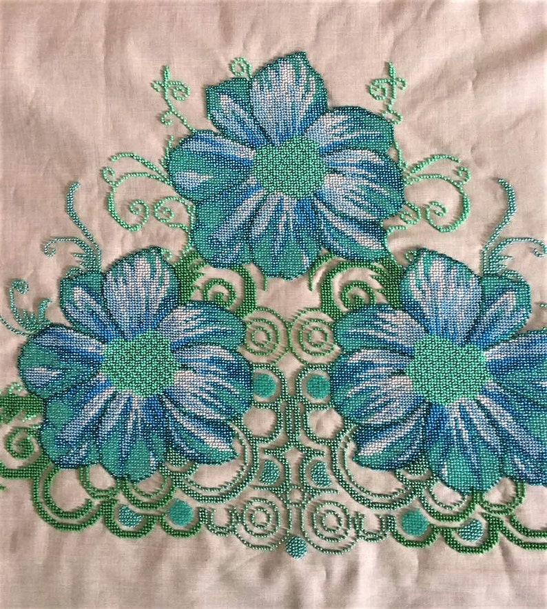 2f98972ab3 Linen dress Light summer dress Embroidered dress White beaded