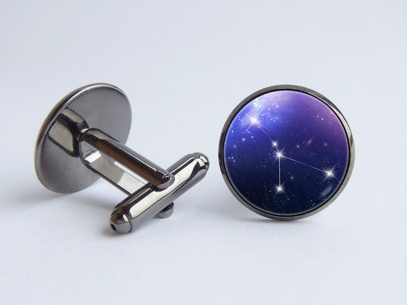 Select Gifts Cuff Links Sagittarius Cufflinks~Zodiac Sign Engraved Personalised Box