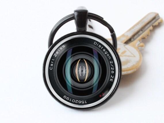 boutons de manchette Vintage Camera objectif Boutons de manchette appareil photo