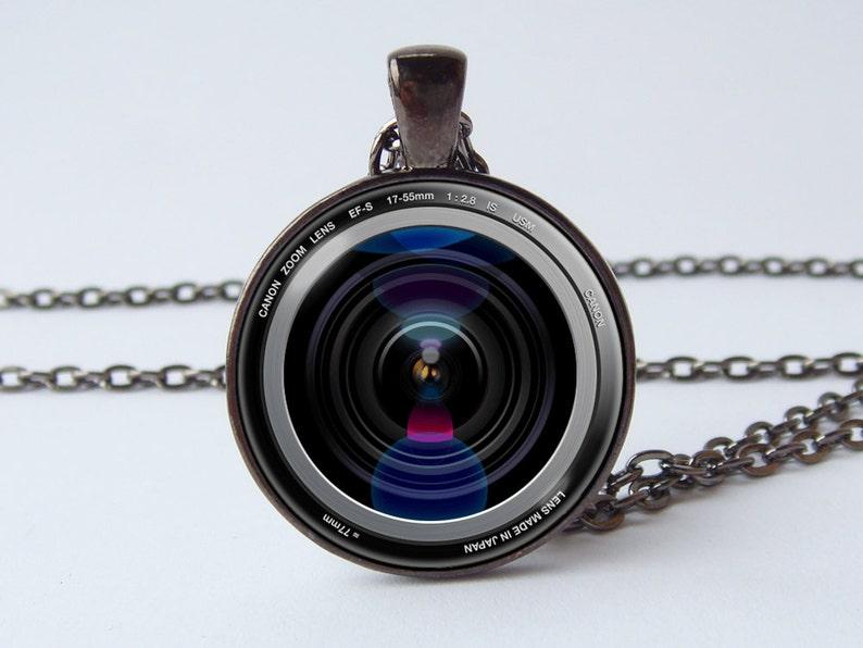 884725d5c924 Lente de cámara fotógrafo regalo cámara lente joyas hombres