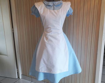 Alice inspired cosplay / dress and apron