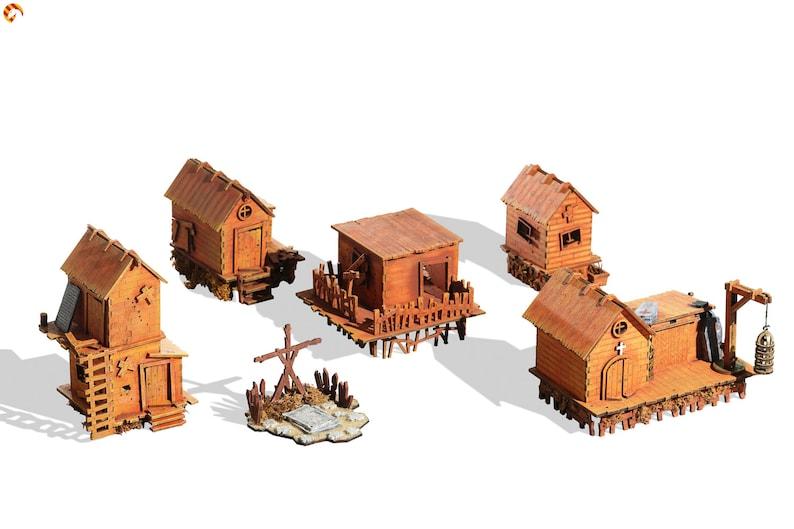 Wargaming terrain: