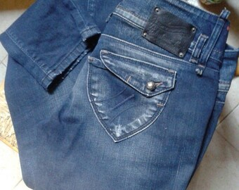 fdc4986c8f55be Vintage Fornarina jeans Fabulous legs denim lavaggio scuro pants trousers