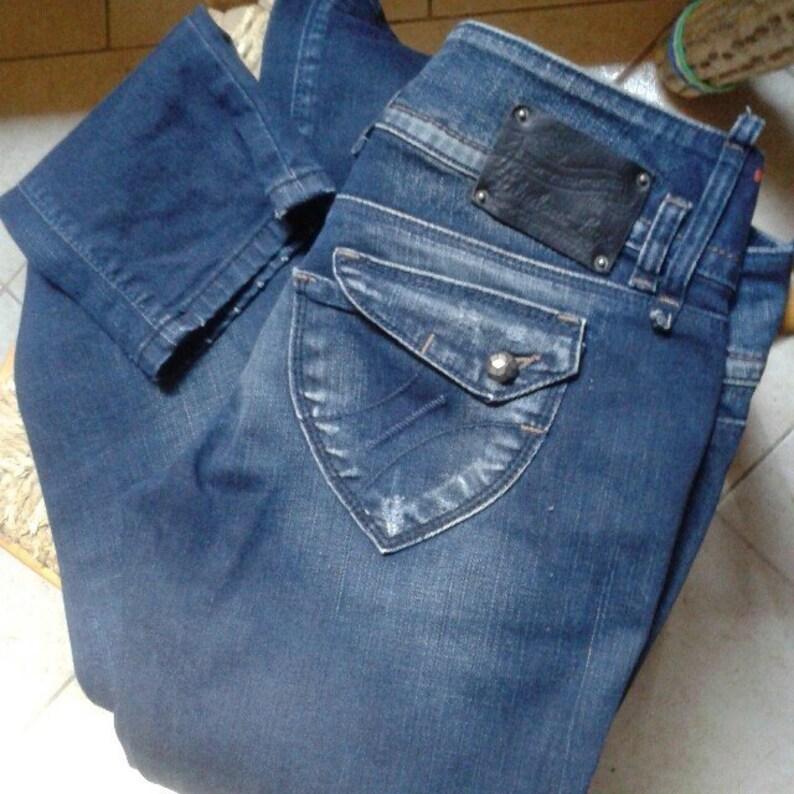 buy popular 84158 e68ed Vintage Fornarina jeans Fabulous legs denim lavaggio scuro pants trousers