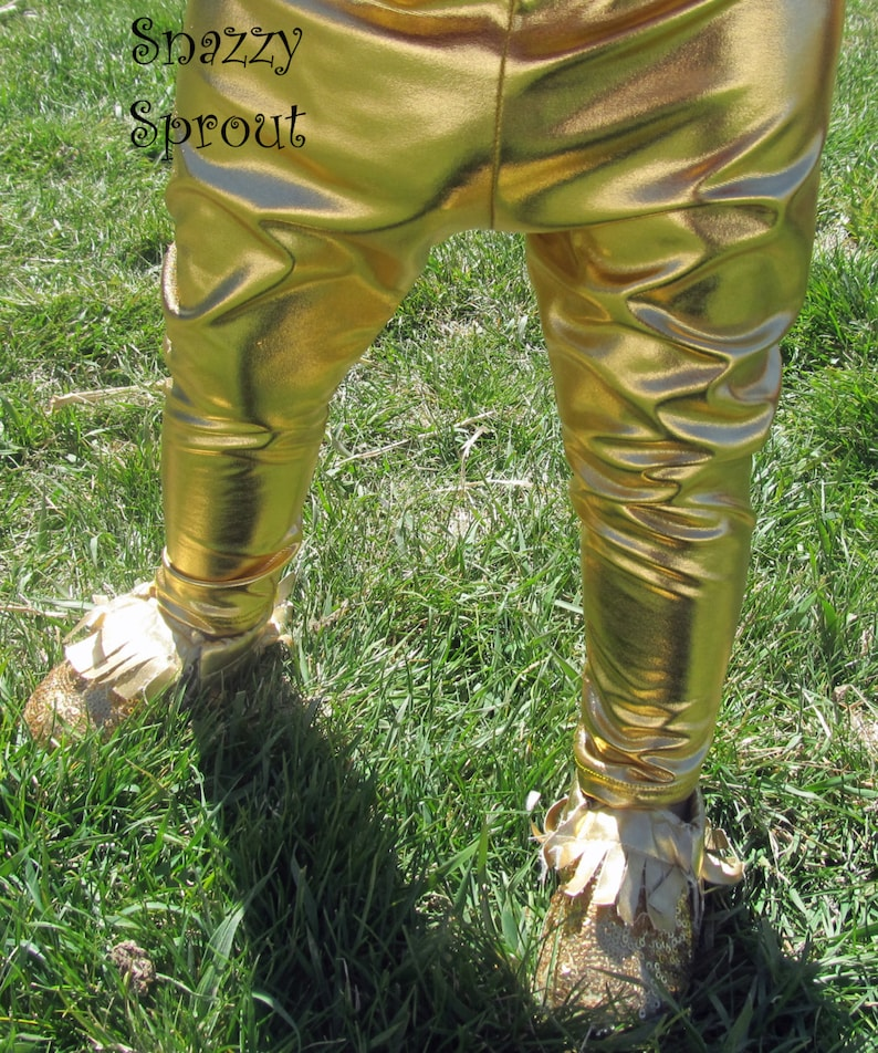 6d8d08ca908e7 READY TO SHIP-Baby Toddler Kids Gold Metallic Faux Leather   Etsy