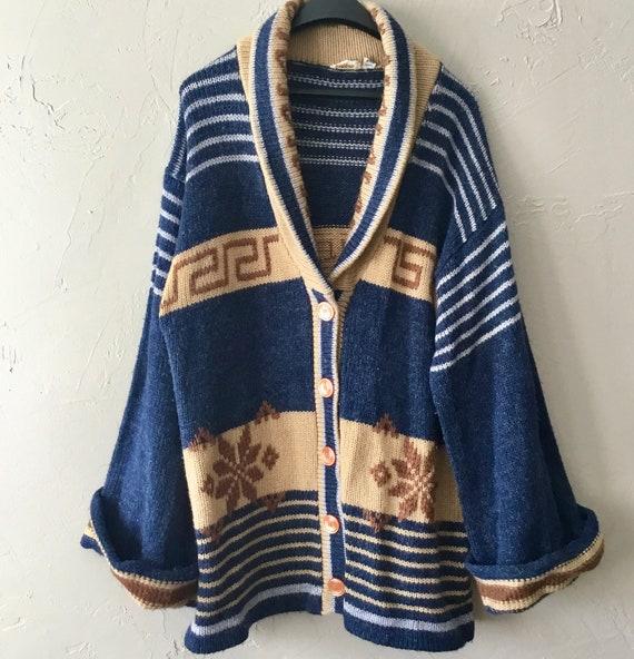Vintage Fingerhut Fashion oversized cardigan