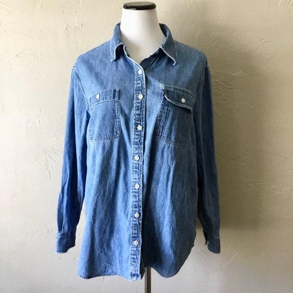 Vintage Lauren Jeans Co. Ralph Lauren denim button