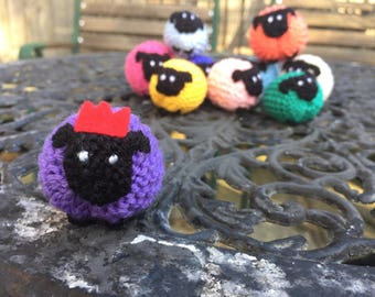 Party Hat Knitted Sheep.