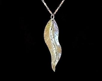 Mountain Laurel Leaf Pendant