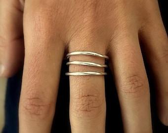 Sterling Twist Ring