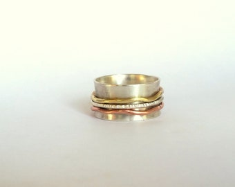 Boho Spinner Ring