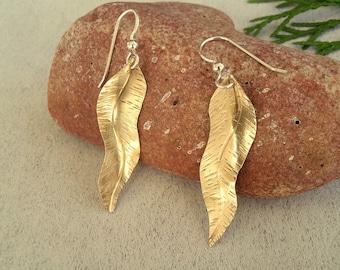 Golden Laurel Leaves