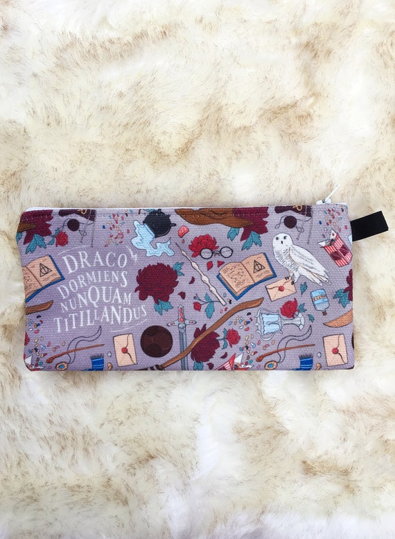 Harry Potter Pencil Case/Small Pouch by Etsy