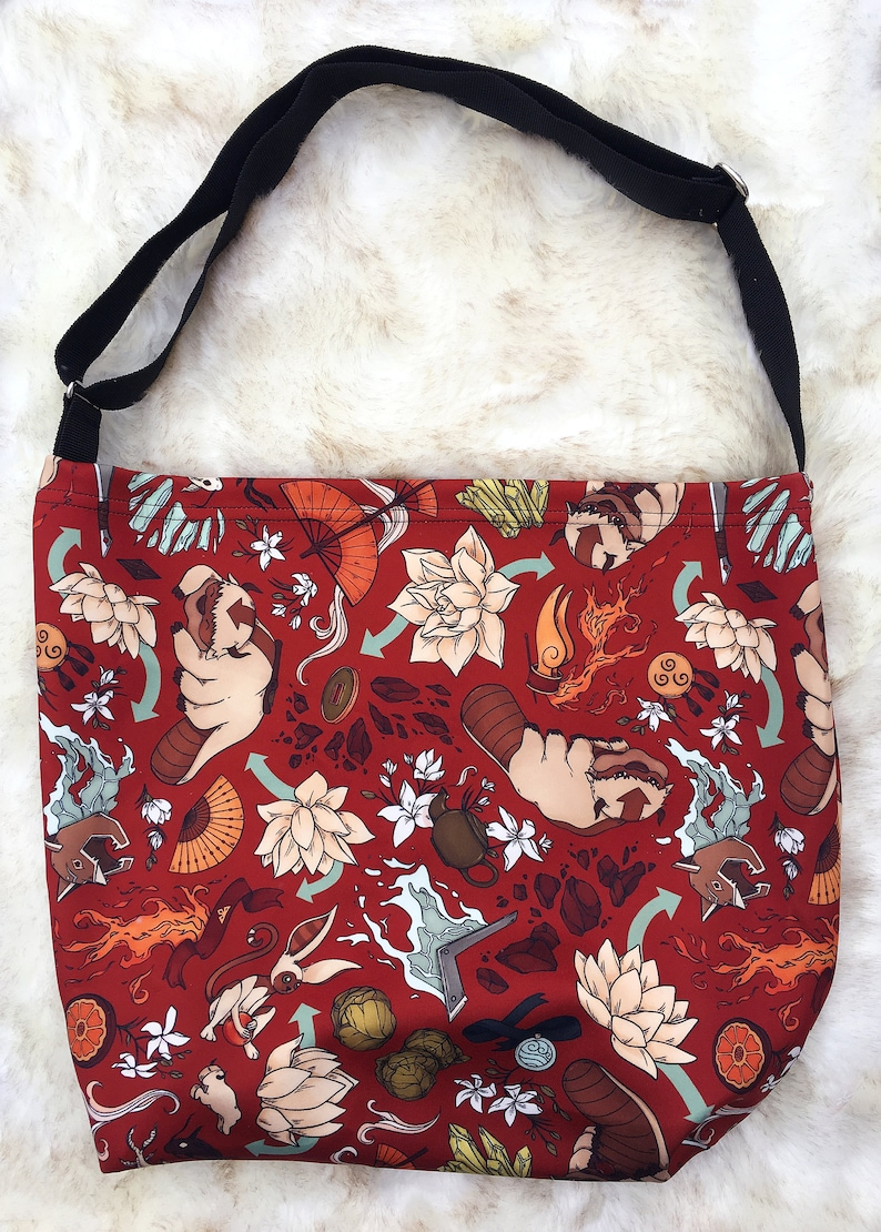 Avatar the Last Airbender Patterned Stretchy Tote Bag