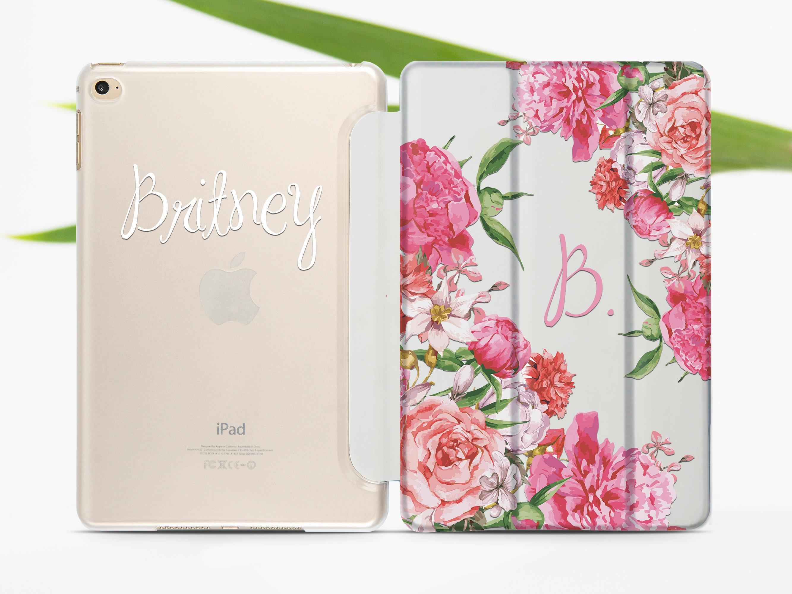 newest 61208 81c67 Custom iPad Mini 5 2019 Case iPad Air 3 2019 Personalized Smart Cover iPad  Pro 10.5 Case Clear iPad 12.9 Case iPad 9.7 2017 Case 696D4501