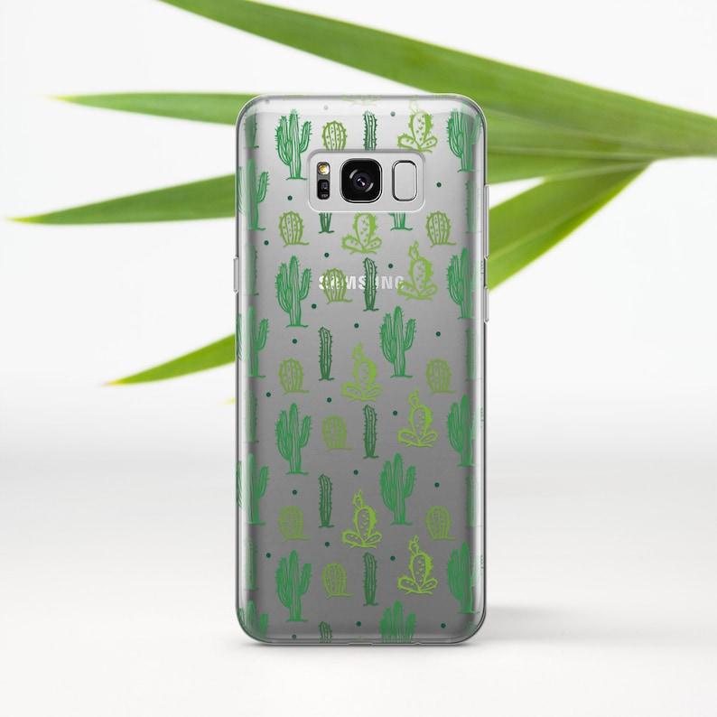 buy online 441f9 baee5 Kawaii Phone Case Cactus Samsung Galaxy S10 Plus Case Galaxy S9 Plus Case  Galaxy Note 8 Case Galaxy S7 Edge Case Google Pixel Case 696D1665