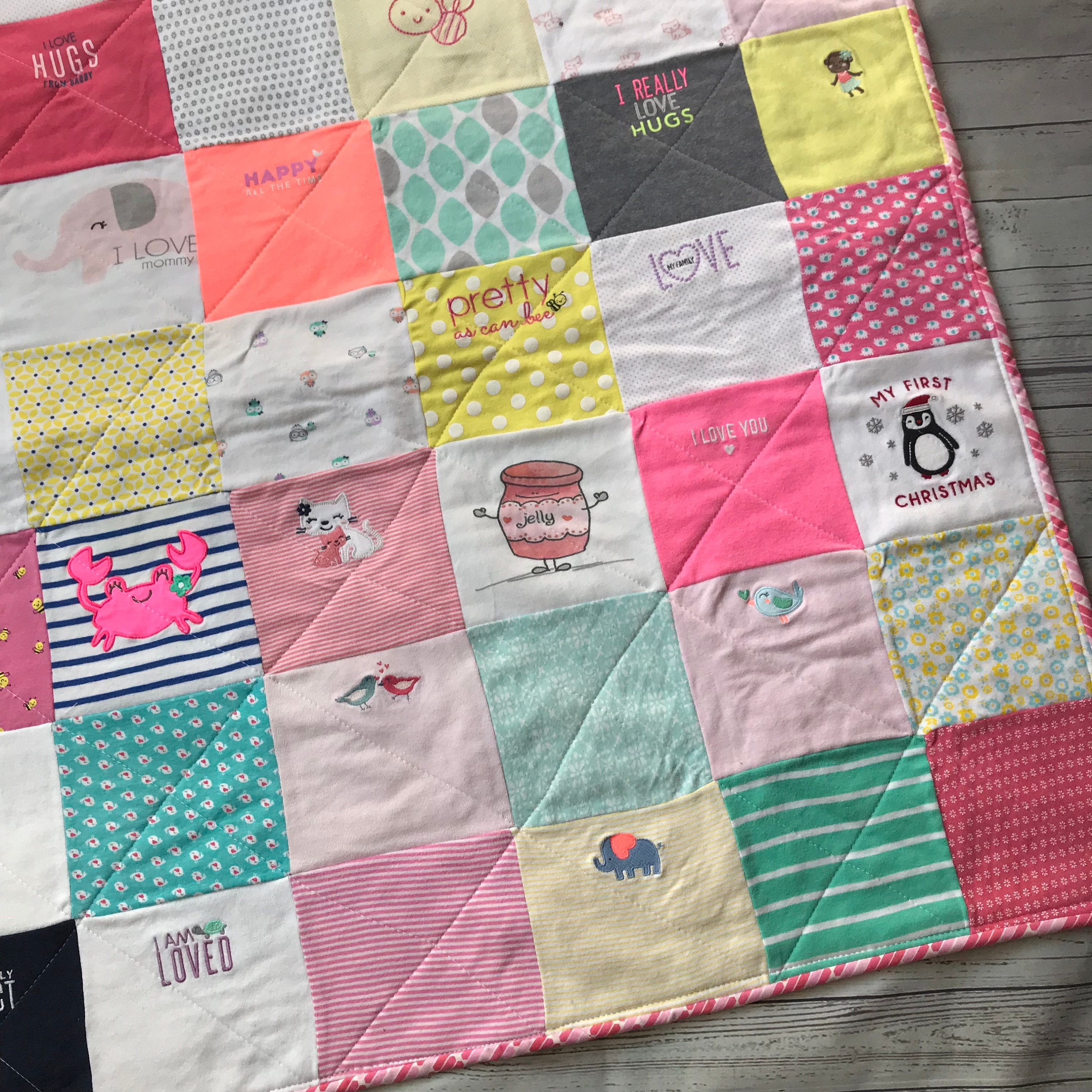 Baby Clothes Quilt 20350ed44