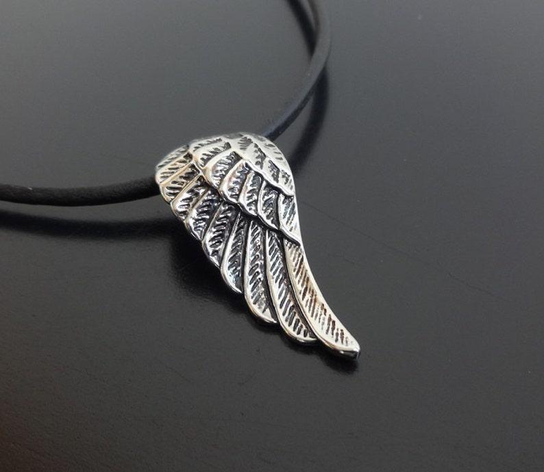 Flügel Halskette Auf AnhängerFederIndianer Engel KetteCharme SchnurSurfer HalsketteFlügelanhängerFeder 6yv7gbIYf