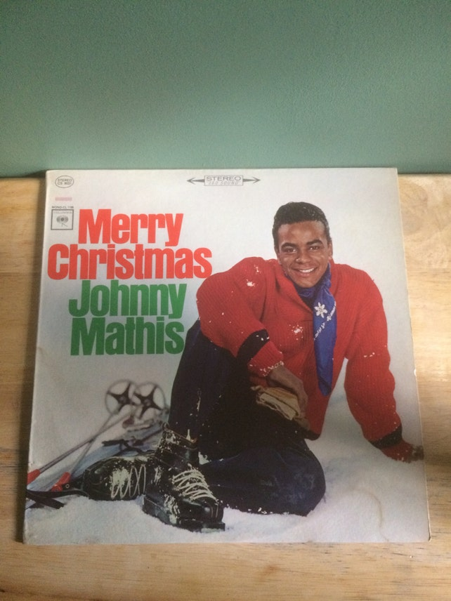 Johnny Mathis Merry Christmas Johnny Mathis With Percy Faith | Etsy