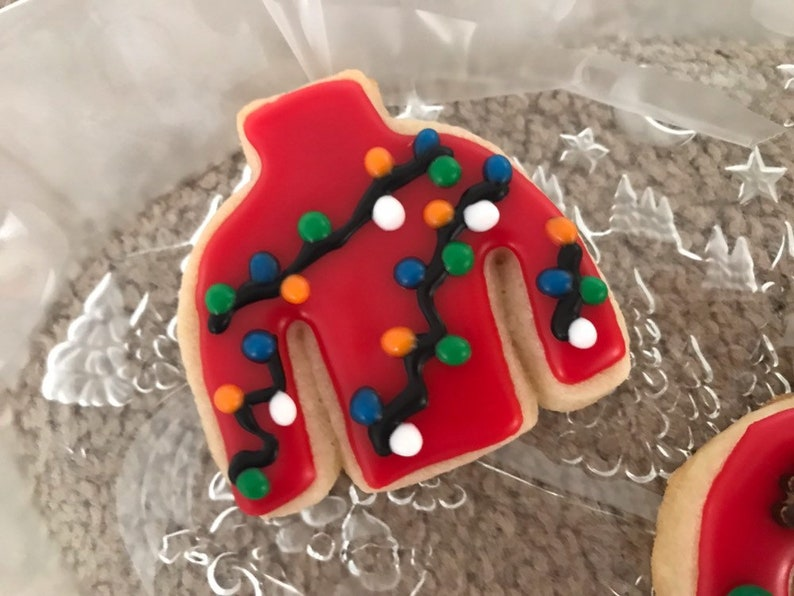 Ugly Sweater Christmas Holiday Cookies