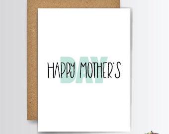 Mothers Day Card, Mothers Day, Mothers Day Greeting, Mothers Day Gift, Happy Mothers Day, G011