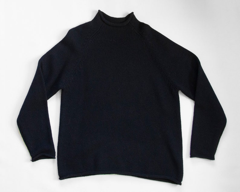 f5708cc6e Agneau Sweater vintage lambswool sweater   90s J Crew boxy