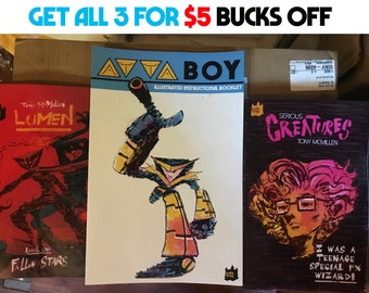 Reduced Lunch Bundle-3 Graphic Novels, 5 Bucks Off