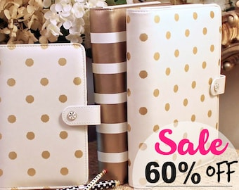 Planner Binder SALE 60% OFF, A5 Binder, Personal Size Binder, Ring Binder, Binder Cover, Clearance Sale, Sell Items, Binder Cover Spine