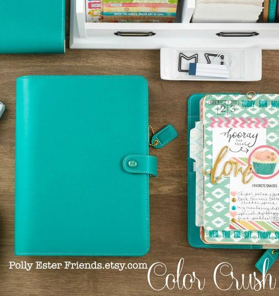 Personal Planner Binder Jade Websters Pages Notebook