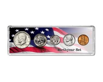 Birth Year Coin Gift Set 1968