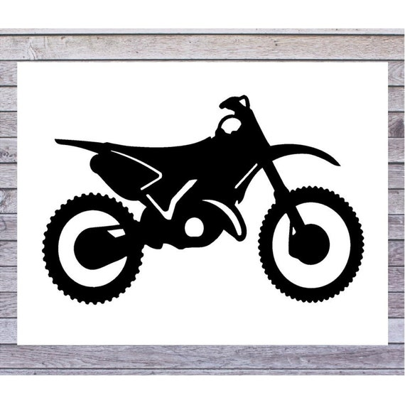 Dirt Bike Wheelie Racer Window Decal Sticker Outdoor Permanent Vinyl Decal Sold By Big Tees Printing On Storenvy